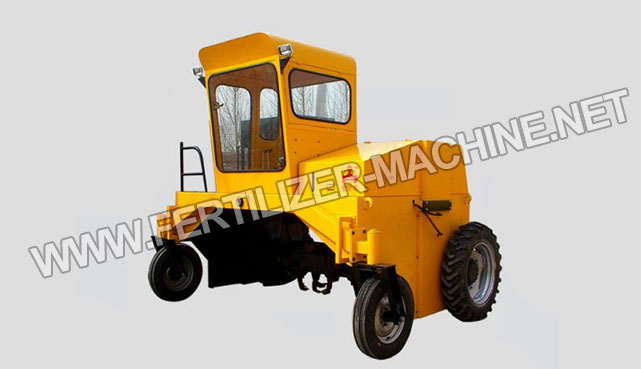 Self-propelled Compost Mixer Turner