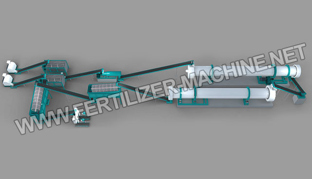 50,000 ton New Type Organic Fertilizer Production Line